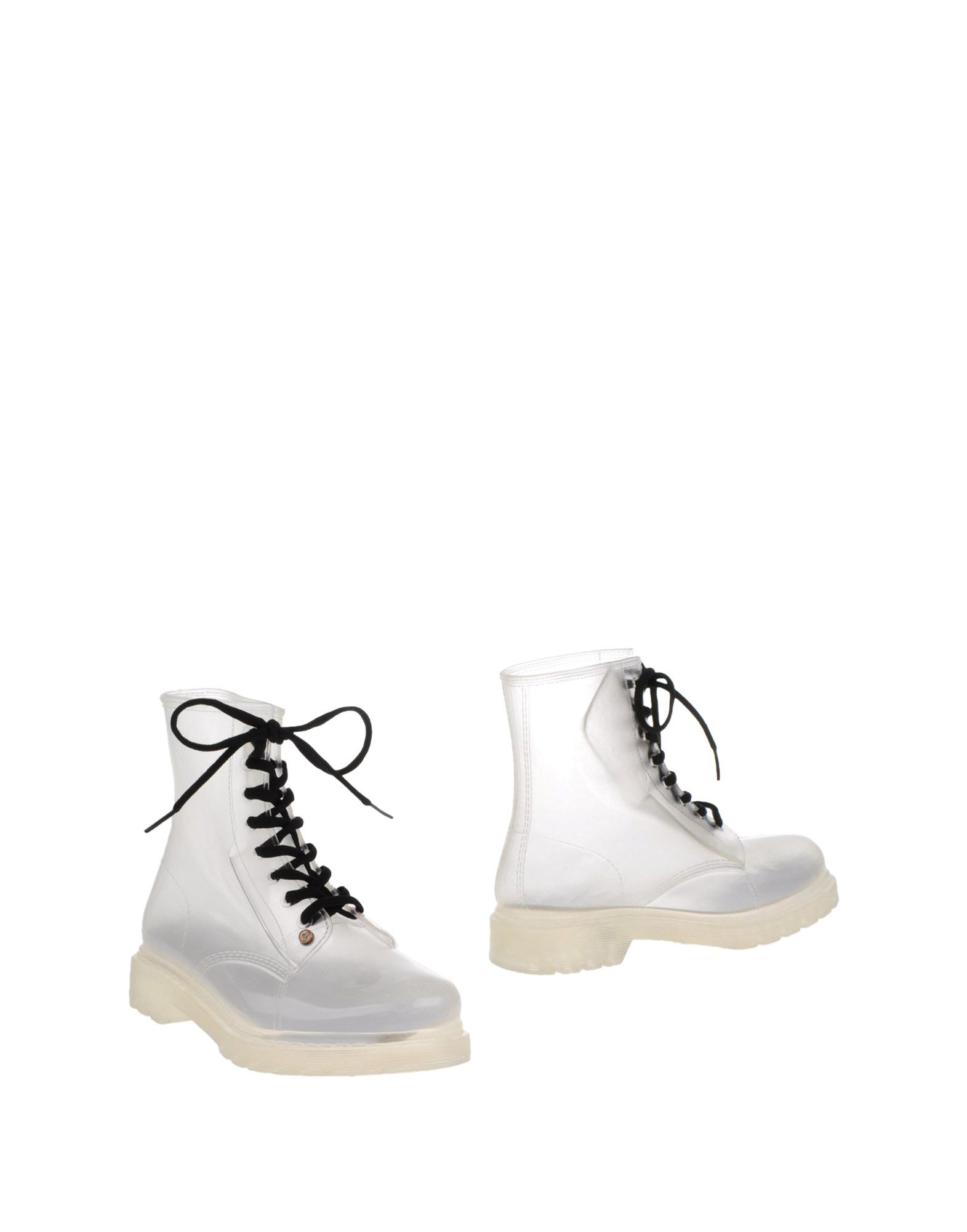 G SIX WORKSHOP Ankle Boots in Transparent