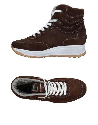 Высокие кеды и кроссовки RUCO LINE. Цвет: темно-коричневый