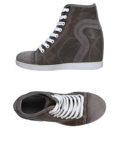 Высокие кеды и кроссовки RUCO LINE. Цвет: свинцово-серый