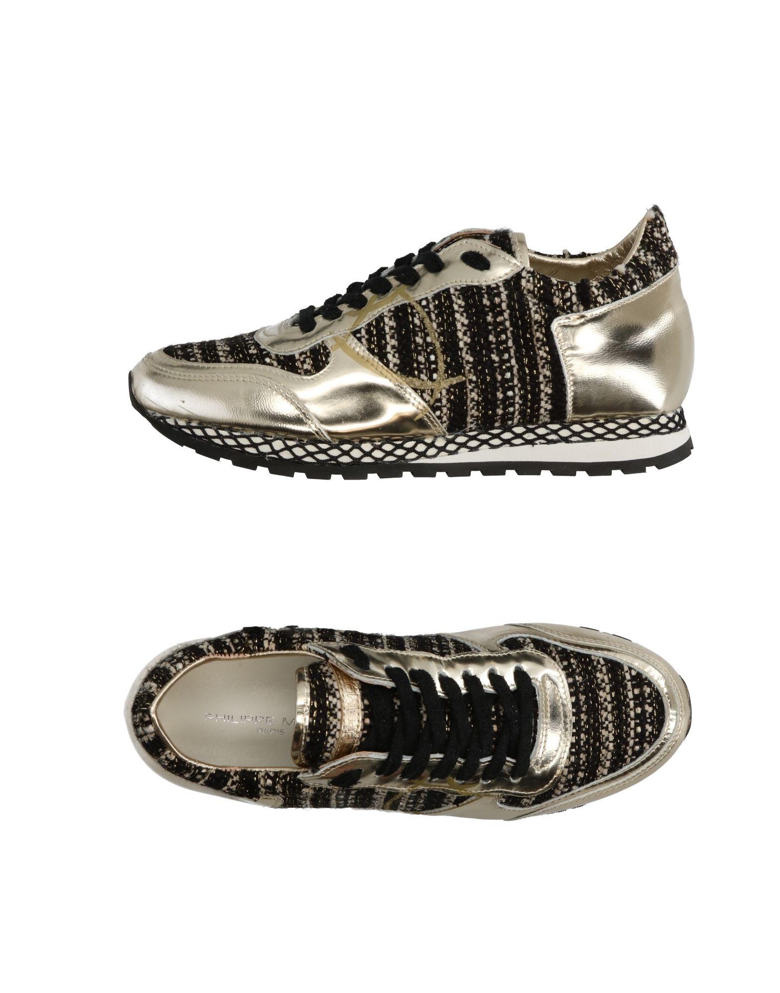 ФОТО philippe model Низкие кеды и кроссовки