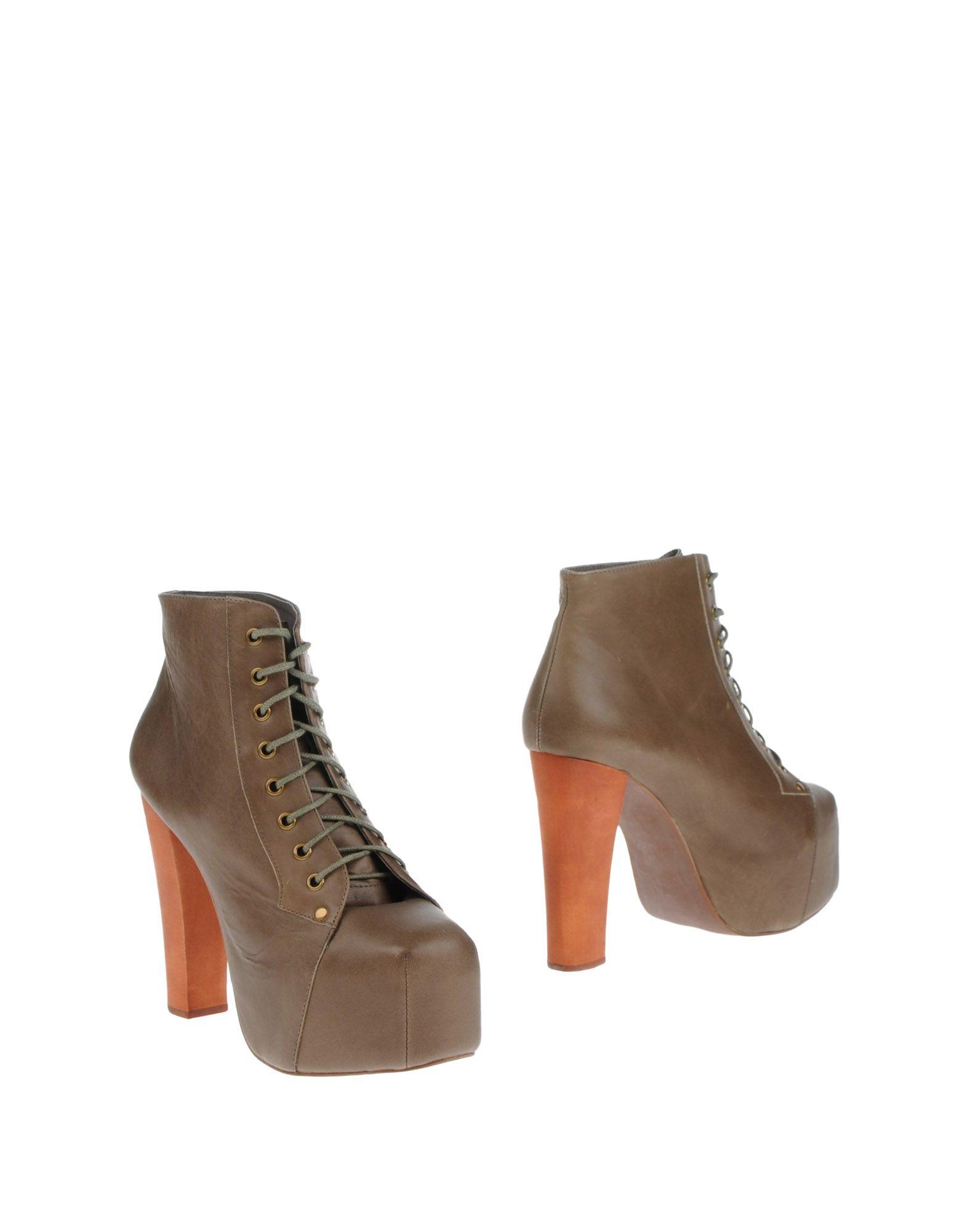 купить JEFFREY CAMPBELL Полусапоги и высокие ботинки дешево