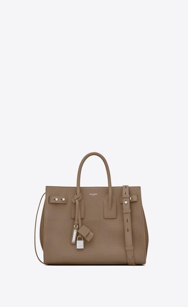 SAINT LAURENT Sac De Jour Supple D Small SAC DE JOUR SOUPLE Bag in Taupe Grained Leather v4