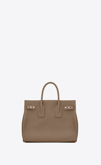 SAINT LAURENT Sac De Jour Supple D Small SAC DE JOUR SOUPLE Bag in Taupe Grained Leather b_V4