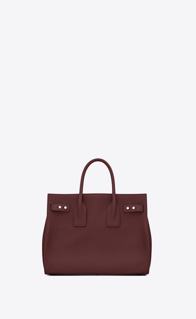 SAINT LAURENT Sac De Jour Supple Woman Small SAC DE JOUR SOUPLE Bag in Dark Red Grained Leather b_V4