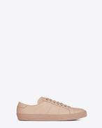 SAINT LAURENT Trainers D Signature COURT CLASSIC SL/06 Sneaker in Light Pink Leather  f