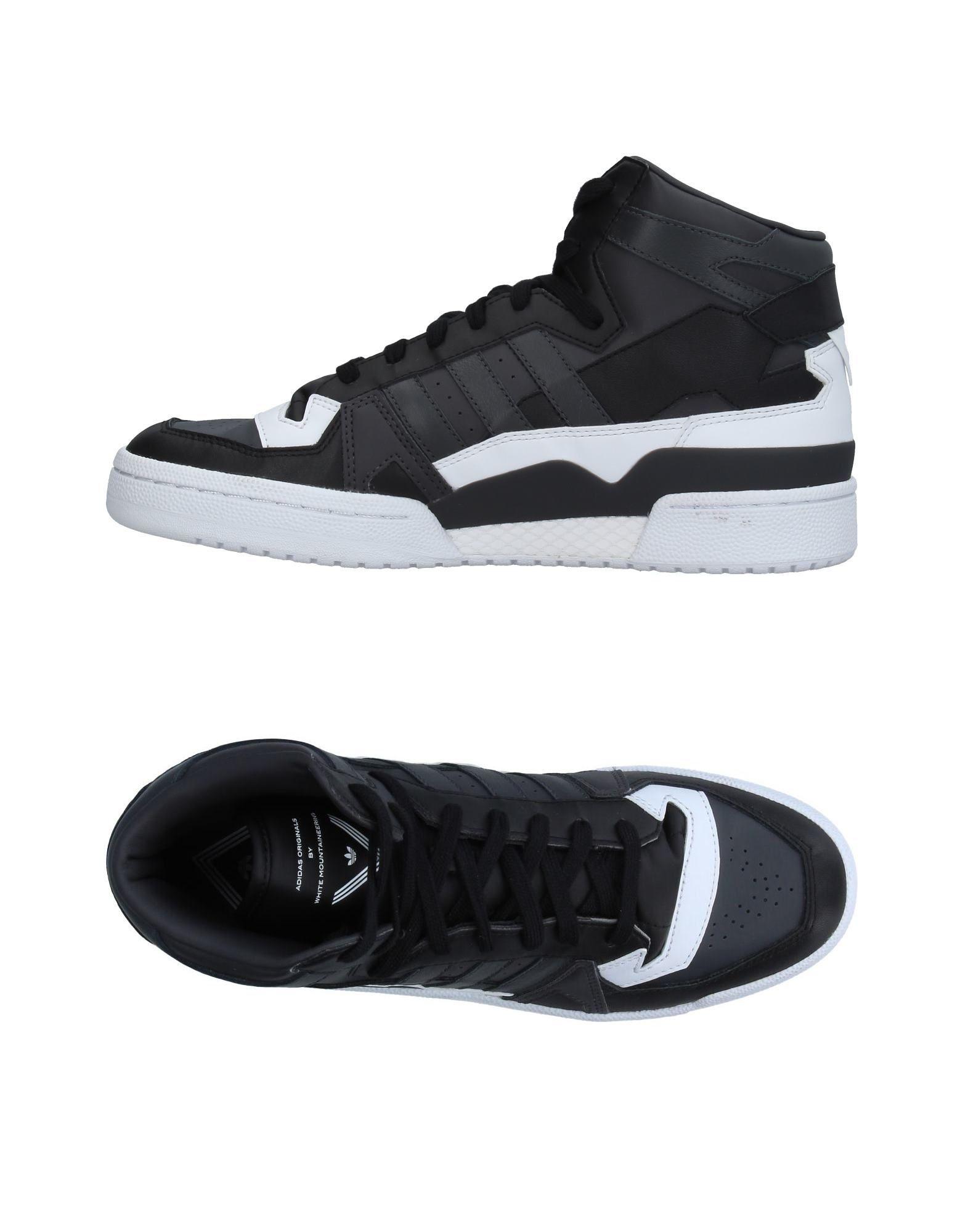ADIDAS ORIGINALS by WHITE MOUNTAINEERING Высокие кеды и кроссовки кеды кроссовки высокие dc evan hi zero black white