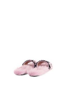 ALBERTA FERRETTI PRINCELADY VIOLET SLIP-ON Monotone slipper D r