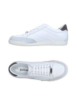 GALLIANO Herren Low Sneakers & Tennisschuhe Farbe Weiß Größe 15