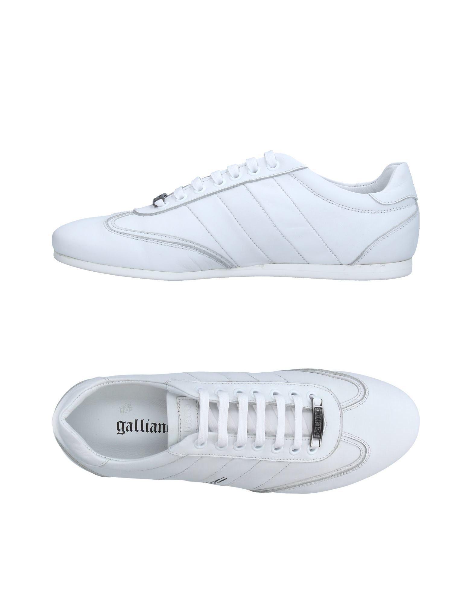 цена GALLIANO Низкие кеды и кроссовки онлайн в 2017 году
