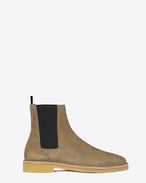 SAINT LAURENT Boots U NEVADA 20 Chelsea Boot in Light Tobacco Suede f