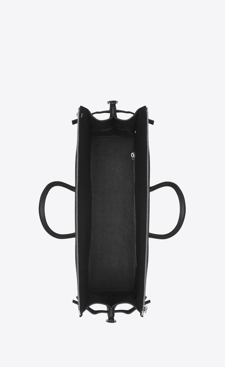 Saint Laurent Sac De Jour 48h Duffle Bag In Grained Leather ... 08113b5c4af8e