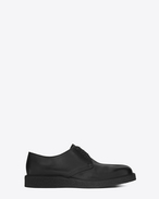 SAINT LAURENT Classic Shoes U HUGO 25 Derby Shoe in Black Leather f