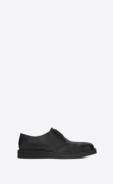 SAINT LAURENT Classic Shoes U HUGO 25 Derby Shoe in Black Leather v4