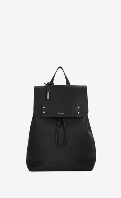 SAINT LAURENT Sac de Jour Men U SAC DE JOUR SOUPLE Backpack in Black Grained Leather v4
