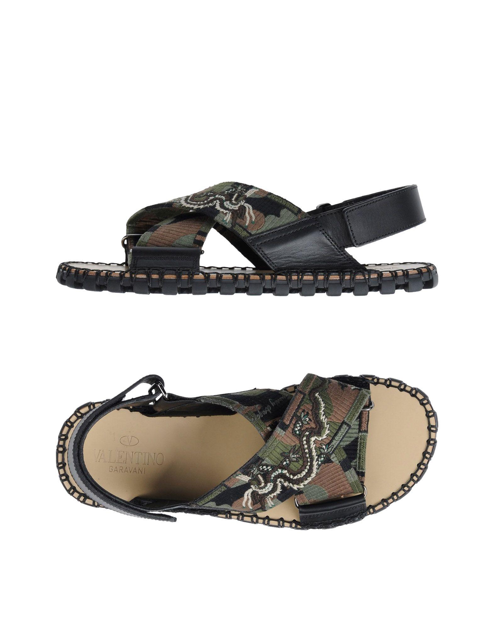 VALENTINO GARAVANI Herren Sandale Farbe Militärgrün Größe 13