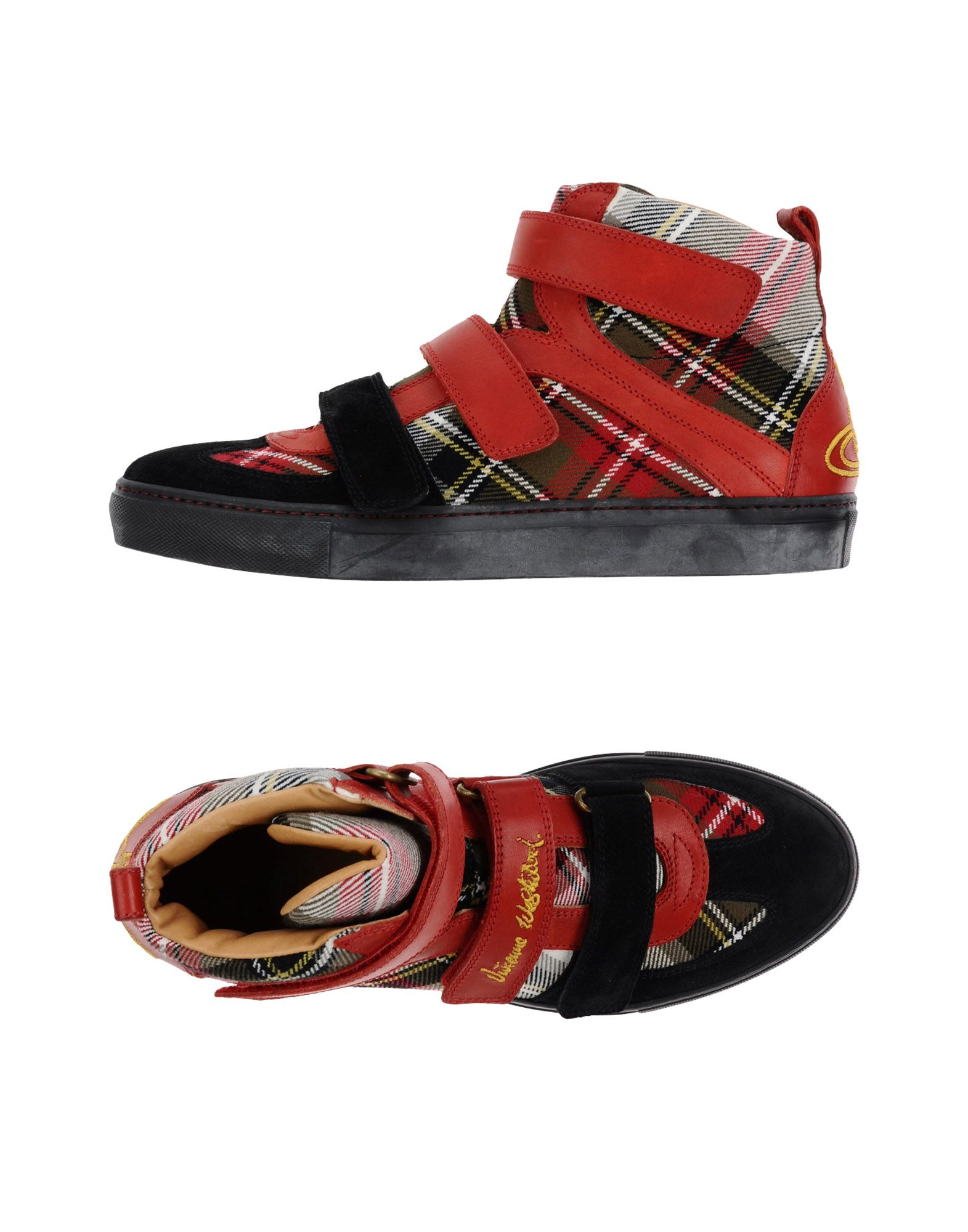 VIVIENNE WESTWOOD MAN Herren High Sneakers & Tennisschuhe Farbe Ziegelrot Größe 9