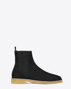 SAINT LAURENT Boots U nevada 20 chelsea boot in black suede f