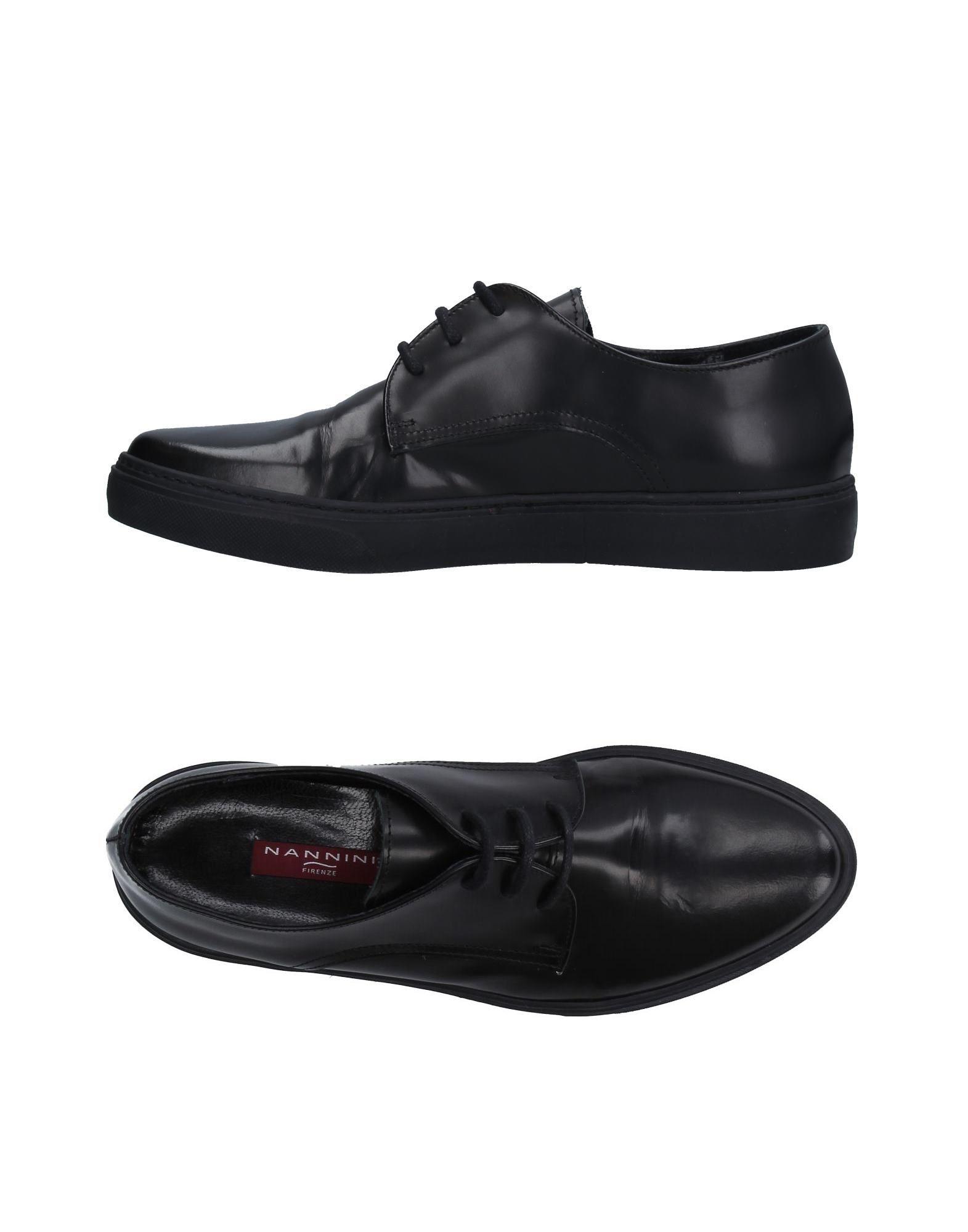 цена NANNINI Обувь на шнурках онлайн в 2017 году