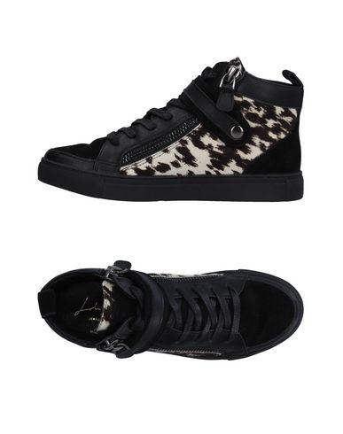 Sneackers Nero donna LOLA CRUZ Sneakers&Tennis shoes alte donna