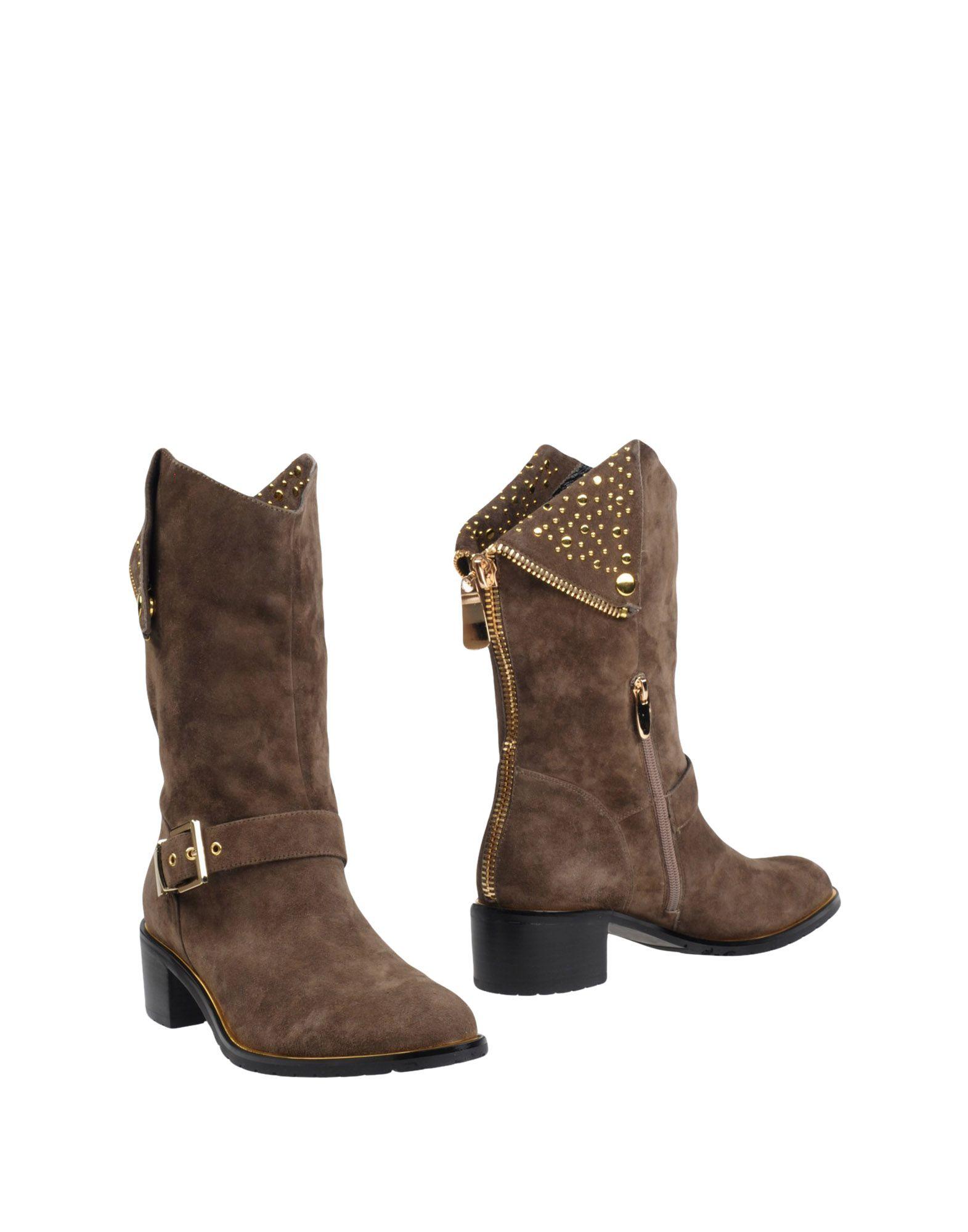 LUCIANO BARACHINI Полусапоги и высокие ботинки цены онлайн