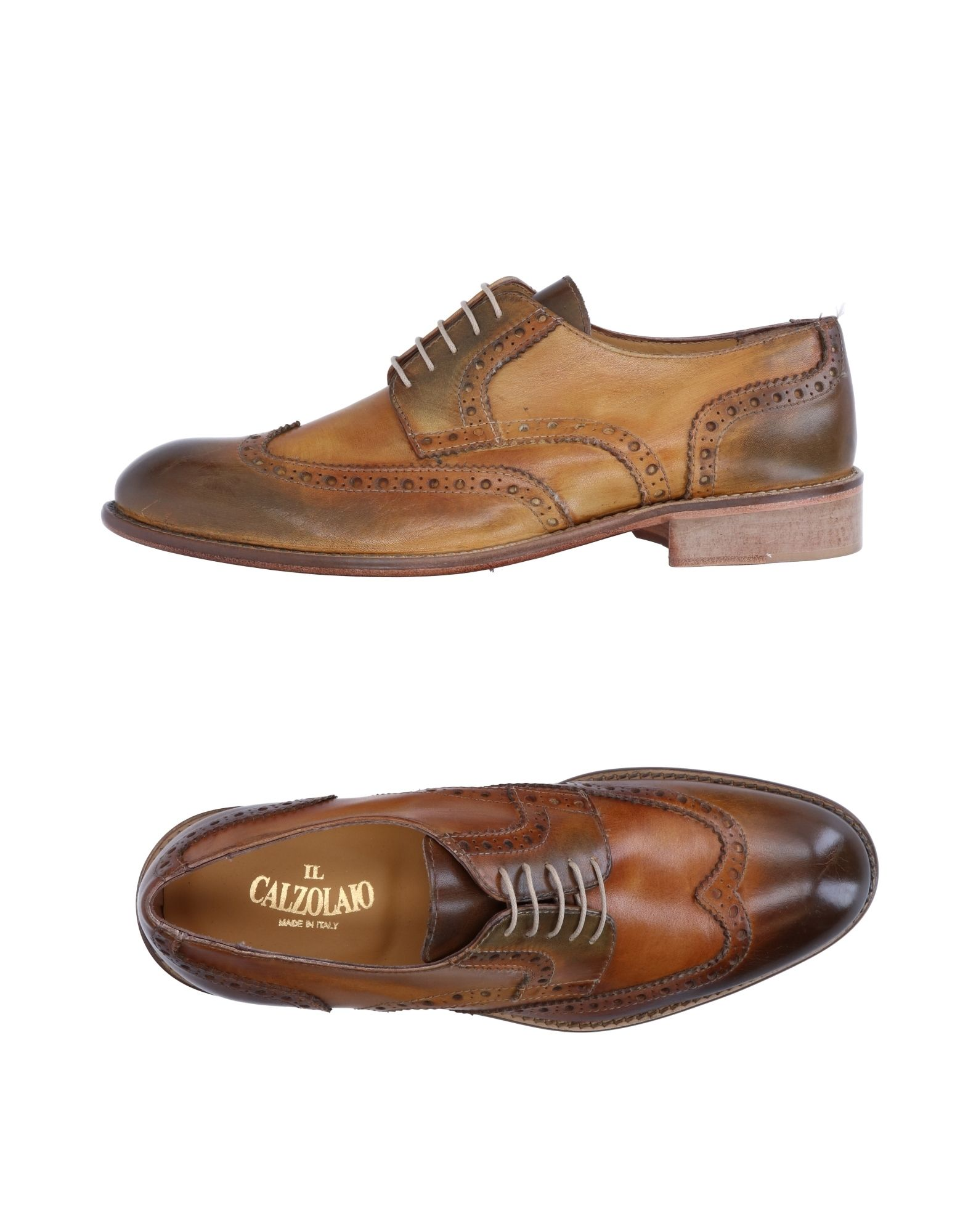IL CALZOLAIO Обувь на шнурках цены онлайн