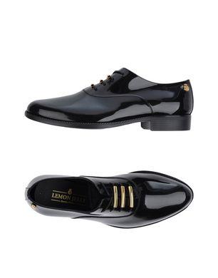 LEMON JELLY Damen Schnürschuh Farbe Schwarz Größe 9
