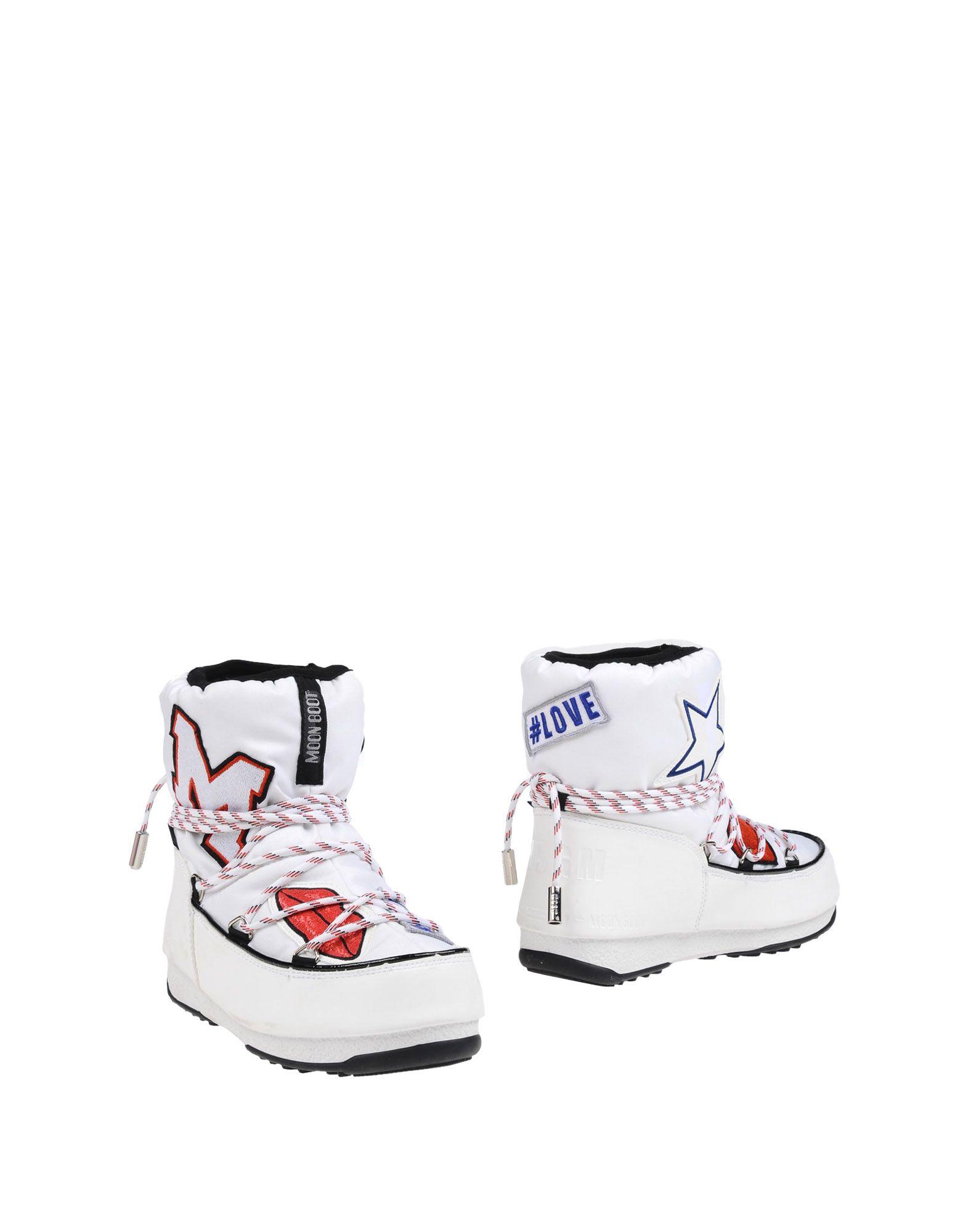 MOON BOOT THE ORIGINAL MSGM Полусапоги и высокие ботинки the christmas boot