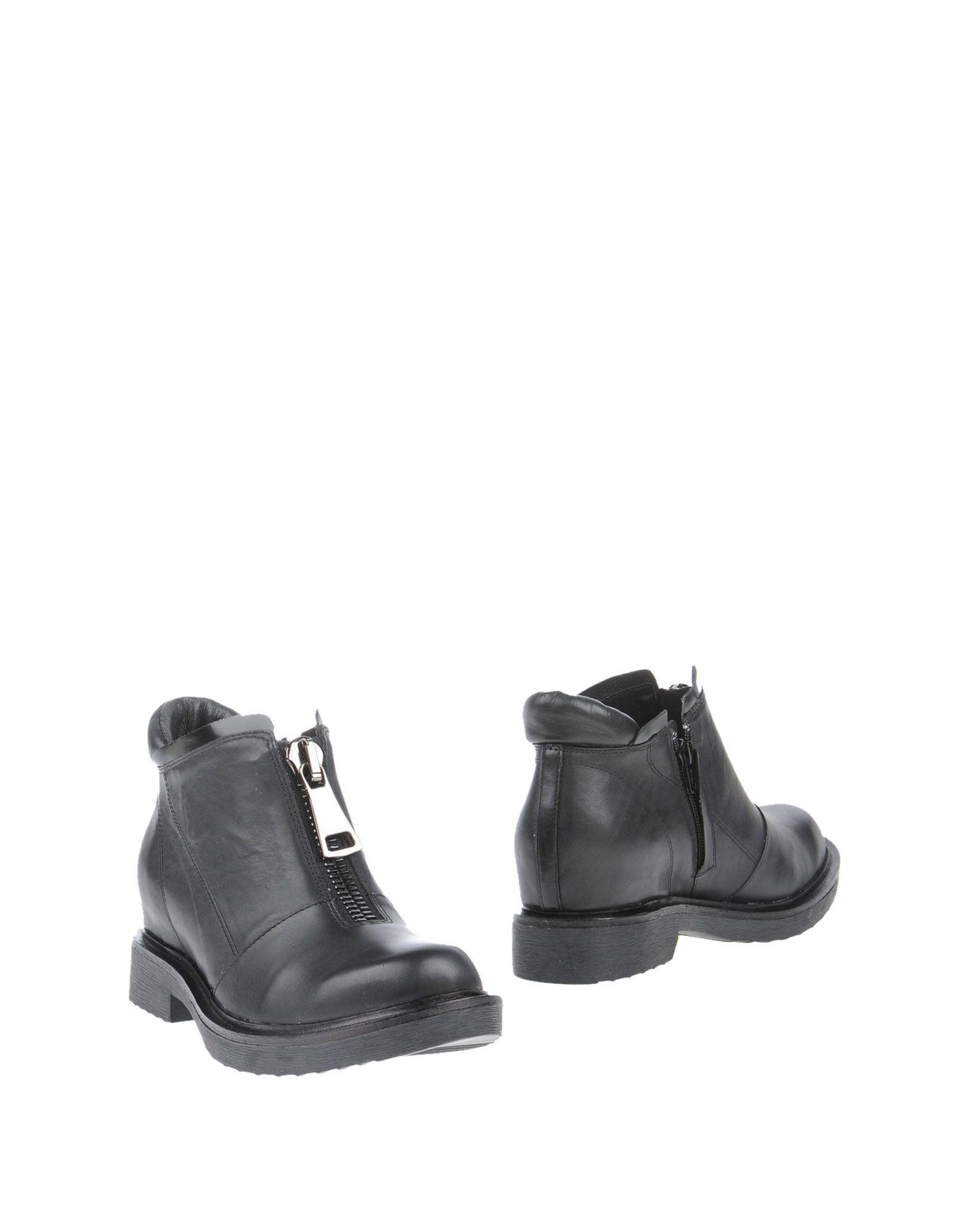 LUCA STEFANI Полусапоги и высокие ботинки цены онлайн