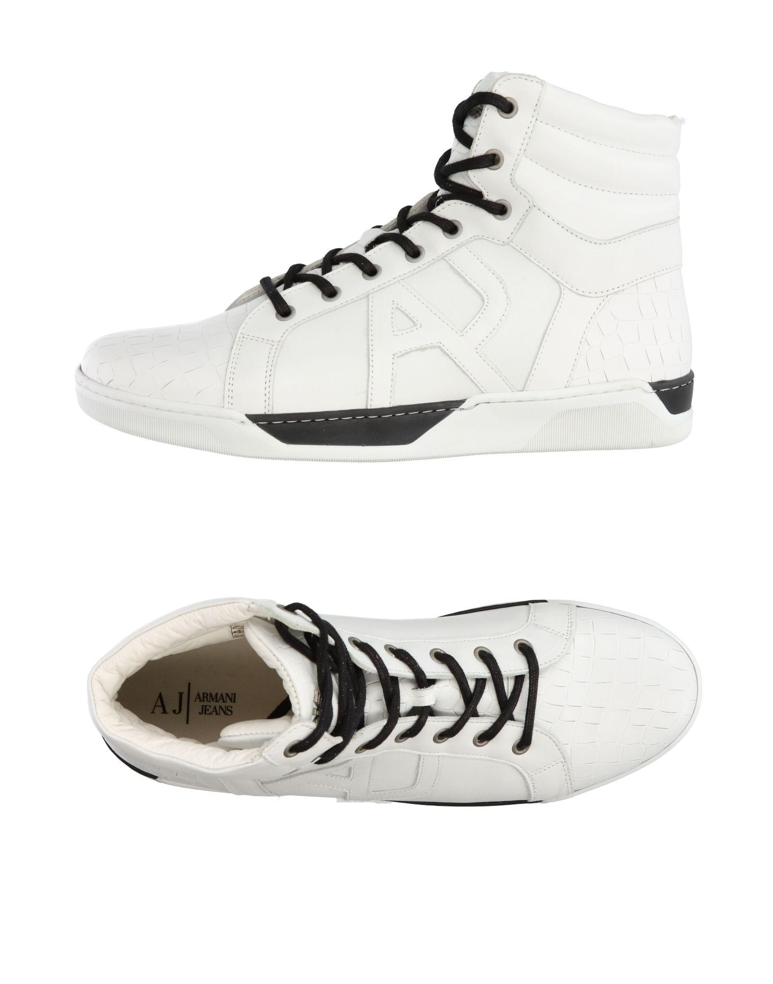 ARMANI JEANS Высокие кеды и кроссовки кроссовки armani jeans armani jeans ar411amtxs31