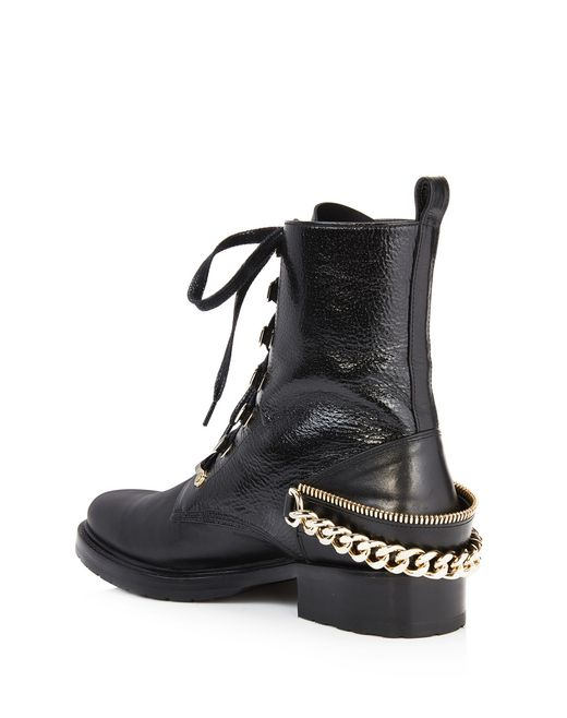 lanvin biker ankle boot women