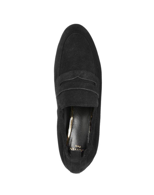 LANVIN SUPPLE SUEDE CALFSKIN LOAFER Loafers D r