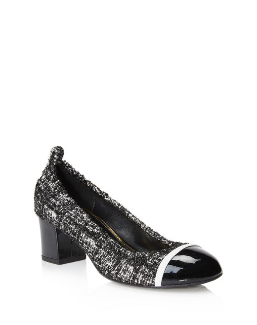 lanvin graphic cube pump women