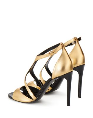 LANVIN GOLD SANDAL Sandals D d