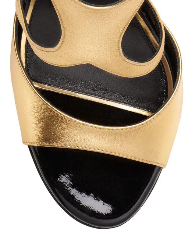 LANVIN GOLD SANDAL Sandals D e