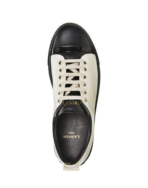 lanvin lambskin sneaker women