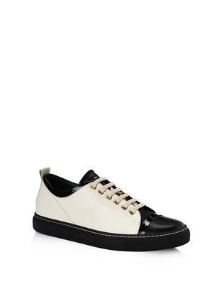 LANVIN LAMBSKIN SNEAKER Sneakers D f