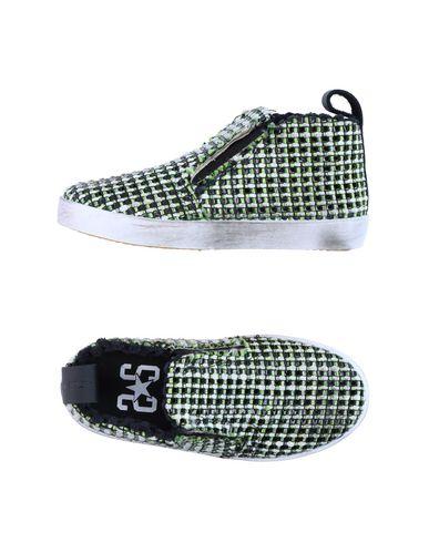 2STAR Mädchen Low Sneakers & Tennisschuhe Grün Größe 32 Gewebefasern Leder