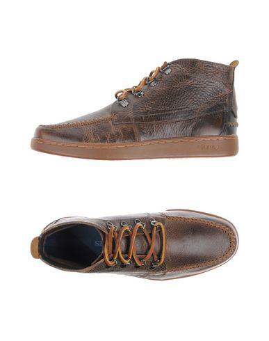 Высокие кеды и кроссовки SEBAGO. Цвет: темно-коричневый