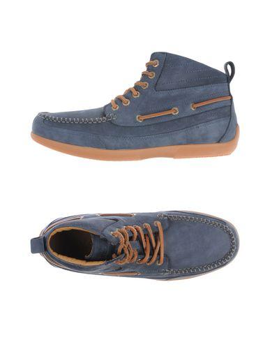 Высокие кеды и кроссовки SEBAGO. Цвет: грифельно-синий