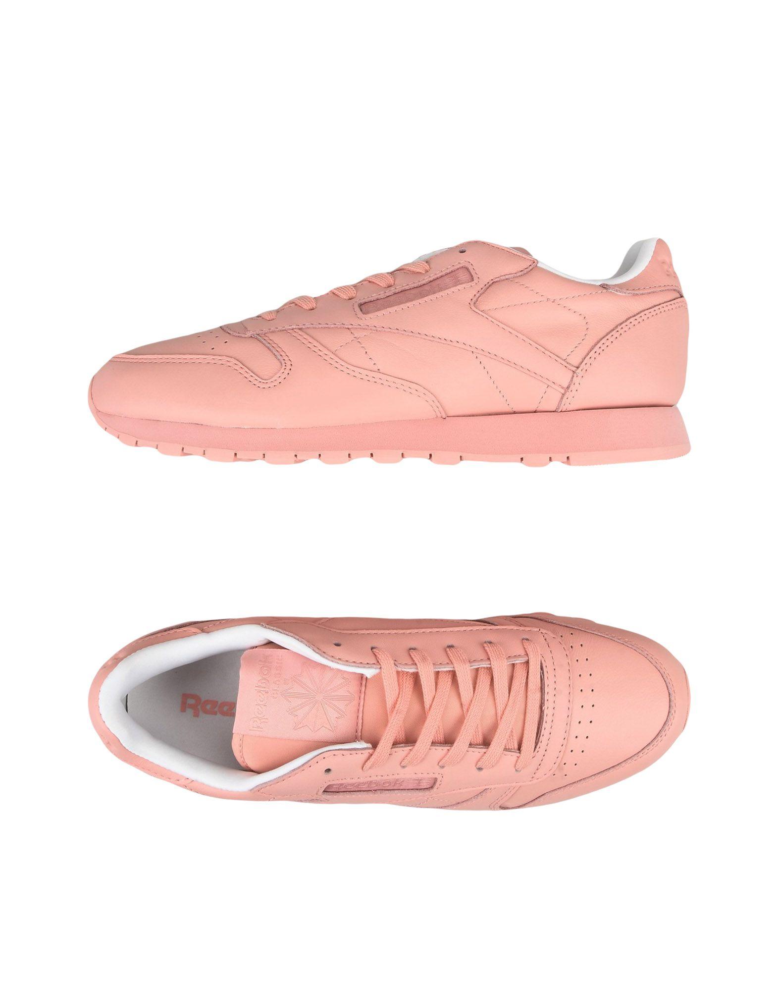 《送料無料》REEBOK レディース スニーカー&テニスシューズ(ローカット) ピンク 6 革 CL LTHR PASTELS