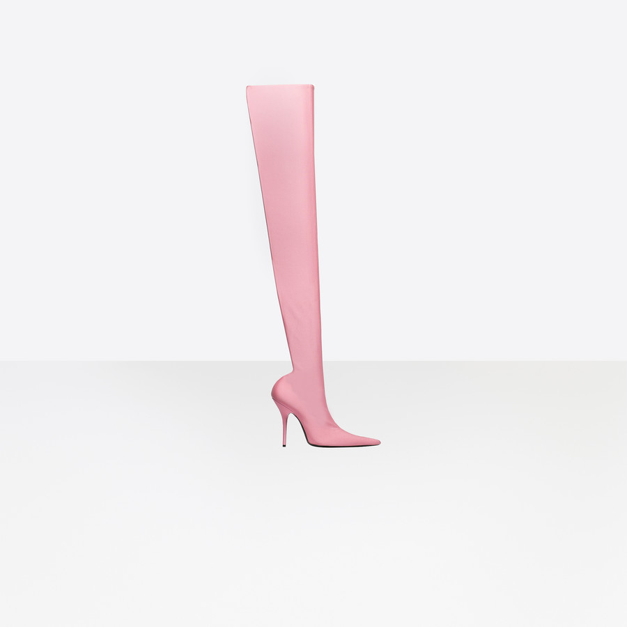 BALENCIAGA Knife Over-the-knee Boots Boots Woman f
