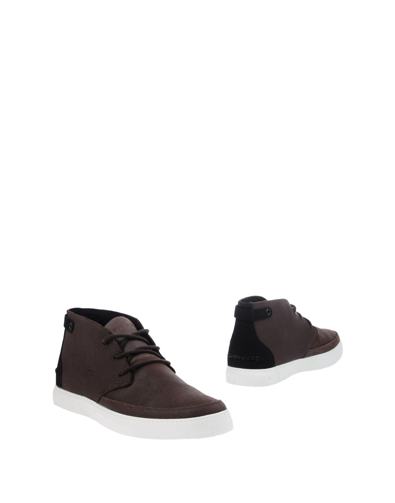 LACOSTE Полусапоги и высокие ботинки демисезонные ботинки lacoste 29srm2120 1190