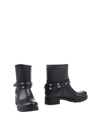 Полусапоги и высокие ботинки BORBONESE. Цвет: черный