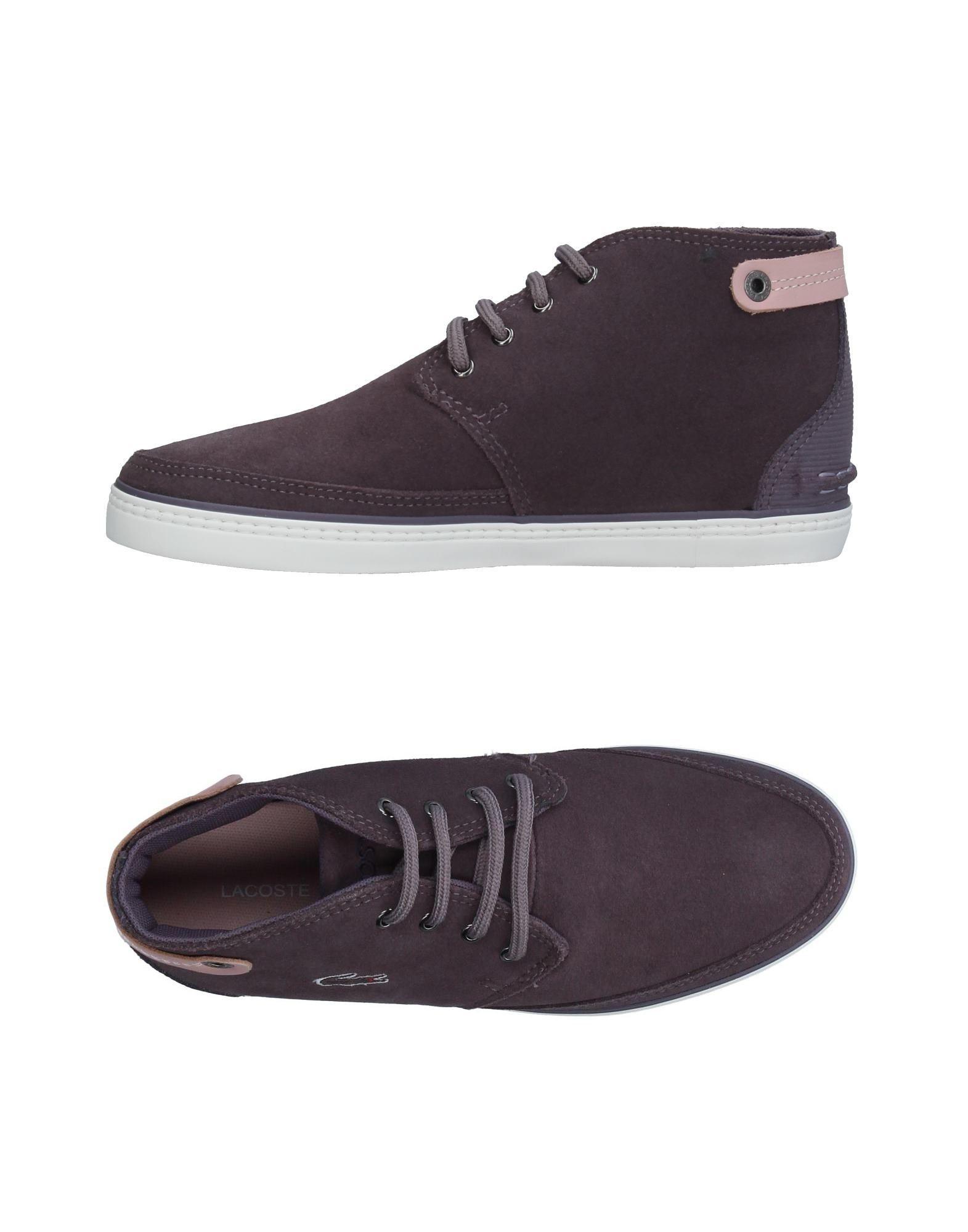 lacoste высокие кеды и кроссовки LACOSTE Высокие кеды и кроссовки