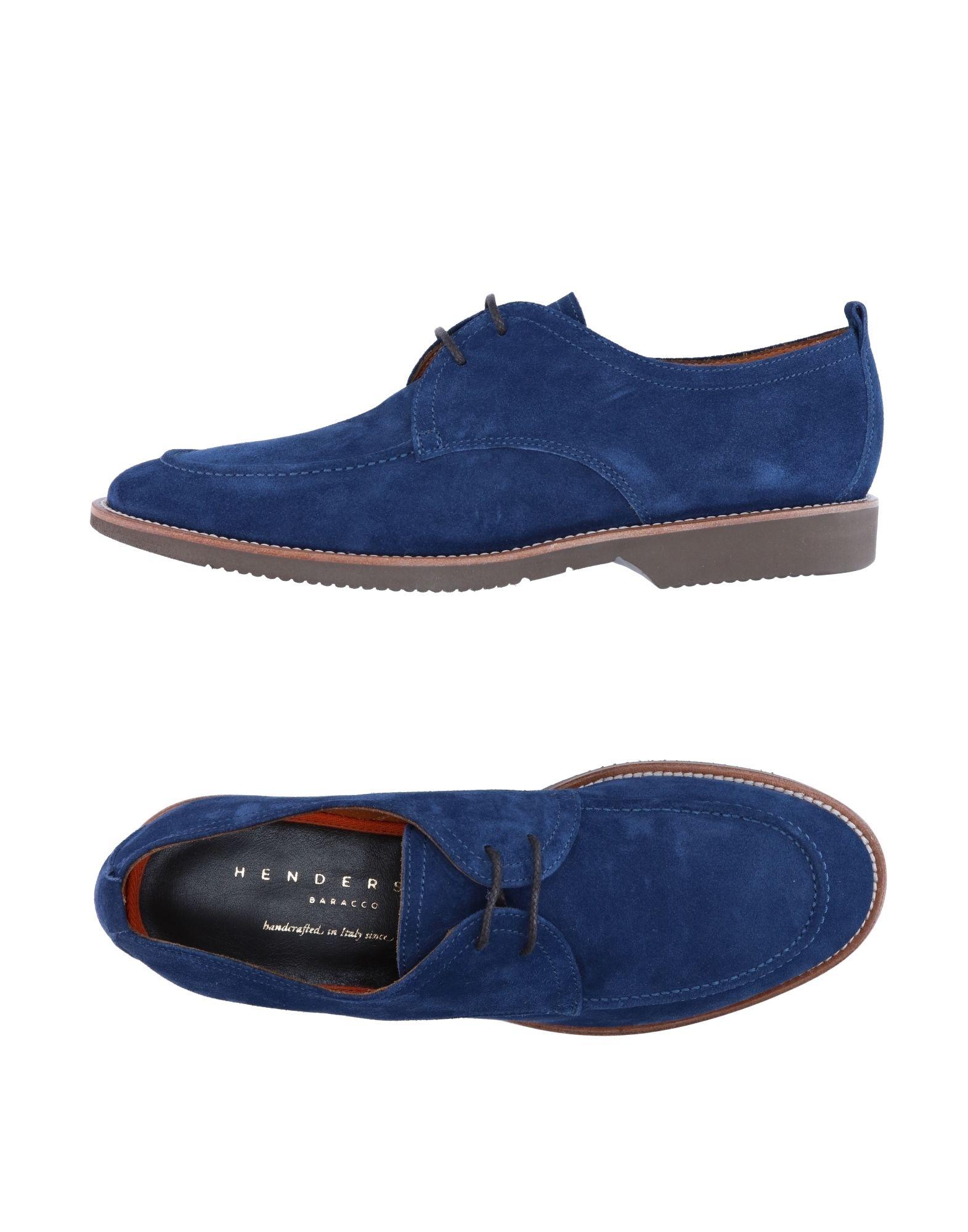 HENDERSON BARACCO Обувь на шнурках цены онлайн