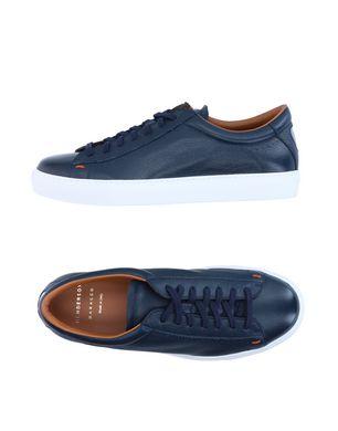 HENDERSON BARACCO Herren Low Sneakers & Tennisschuhe Farbe Dunkelblau Größe 9