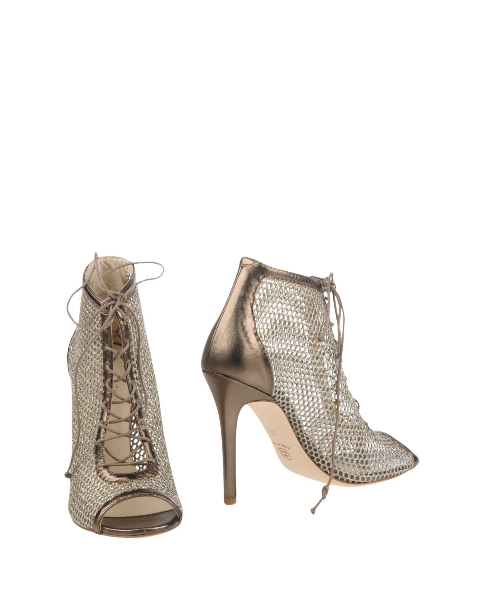 цена GIOVANNA GRAZZINI Полусапоги и высокие ботинки онлайн в 2017 году