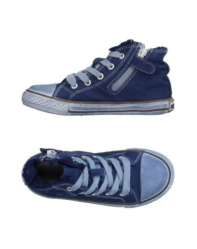 Фото - Высокие кеды и кроссовки от TWINSET темно-синего цвета