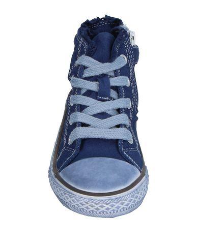 Фото 2 - Высокие кеды и кроссовки от TWINSET темно-синего цвета