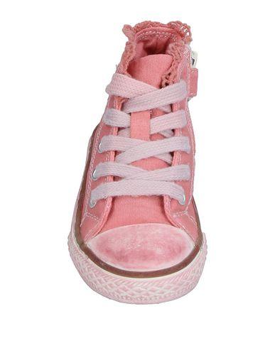 Фото 2 - Высокие кеды и кроссовки от TWINSET розового цвета